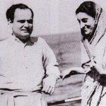 इंदिरा गांधी M.O. मथाई के साथ
