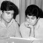 जावेद अख्तर सलीम खान के साथ