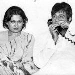 दिलीप कुमार अपनी पूर्व पत्नी आसमा रहमान के साथ
