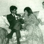 दिलीप कुमार अपनी बहनों साकिना, सईदा और ताज के साथ