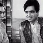 दिलीप कुमार अशोक कुमार के साथ