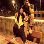 विनीत कुमार अपनी बहन के साथ