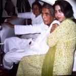 शबीना अदीब अपने माता-पिता के साथ