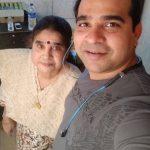 शिल्पा शिंदे की माँ और भाई