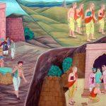 शिवाजी महाराज आगरा से निकलते हुए