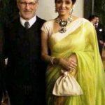 श्रीदेवी स्टीवन स्पीलबर्ग के साथ