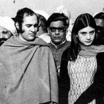 संजय गांधी अपनी पत्नी के साथ