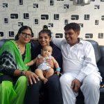 साक्षी मलिक अपने माता-पिता के साथ