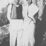 हरिप्रसाद चौरसिया की गुरु अन्नपूर्णा देवी अपने पति पंडित रविशंकर के साथ