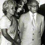 हरिवंश राय बच्चन अपनी पत्नी तेजी बच्चन के साथ