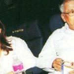 उर्मिला मातोंडकर अपने पिता के साथ