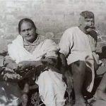 गामा पहलवान अपनी पत्नी वज़ीर बेगम के साथ