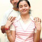 गौतम गंभीर अपनी बहन एकता के साथ