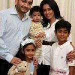 नीरव मोदी अपने परिवार के साथ