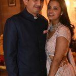 नीरव मोदी के भाई निशाल मोदी अपनी पत्नी के साथ