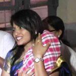 बी. चंद्रकला अपनी बेटी के साथ