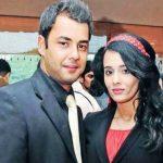 मयंती लेंगर अपने पति के साथ