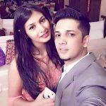 मुदस्सर खान अभिश्री सेन के साथ