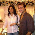 श्रीदेवी संजय कपूर के साथ
