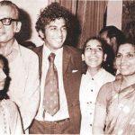 सुनील गावस्कर अपने परिवार के साथ