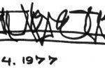 ओशो हस्ताक्षर