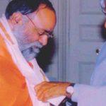 कुमार स्वामी जी को डॉ ए. पी. जे. अब्दुल कलाम द्वारा सम्मानित किया गया।