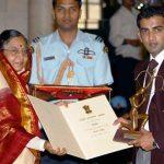 गौतम गंभीर अर्जुन पुरस्कार के साथ