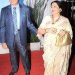 राज बब्बर अपनी पहली पत्नी नादिरा बब्बर के साथ