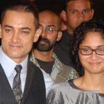 आमिर अपनी दूसरी पत्नी किरण राव के साथ