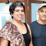 आमिर अपनी पूर्व पत्नी रीना दत्ता के साथ