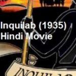 फिल्म इंकलाब (1935)