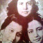 मीना कुमारी अपनी बहनों के साथ