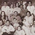 राज कपूर अपने परिवार के साथ