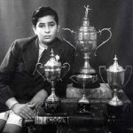 राज कपूर अपने पुरस्कारों के साथ
