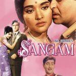 राज कपूर की पहली रंगीन फिल्म संगम (1964)