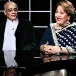 राज कपूर की बहन रितु नंदा अपने पति राजन नंदा के साथ