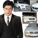 शाहरुख़ खान के 555 अंक वाली पंजीकृत कार