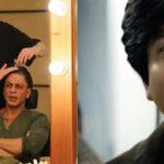 शाहरुख़ खान फैन फिल्म मेकअप में