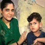 अनु कुमारी अपने बेटे के साथ