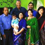 अंकिता कोनवर अपने परिवार के साथ