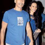 मिलिंद सोमन दीपनिता शर्मा के साथ