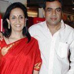 परेश रावल अपनी पत्नी के साथ