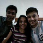 अनुदीप इरा सिंघल के साथ