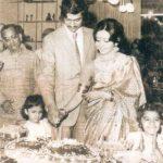 अजय पीरामल 1980 के दशक में अपनी पत्नी के साथ