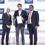 आनंद पीरामल हूरुन रियल एस्टेट यूनिकॉर्न ऑफ द ईयर' 2017 पुरस्कार के साथ
