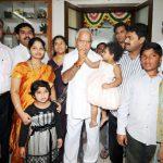 बी॰ एस॰ येदियुरप्पा अपने परिवार के साथ