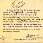 भगत सिंह मृत्यु प्रमाण पत्र
