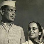 जयप्रकाश नारायण अपनी पत्नी के साथ