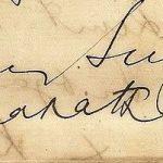 सुरेंद्रनाथ बैनर्जी हस्ताक्षर