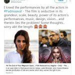 स्वरा भास्कर का ट्वीट